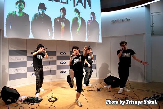 SMELLMANスメルマン2ndアルバム「Wao!!!!!」リリース~アカペラライブ@KDDIデザイニングスタジオ2/2