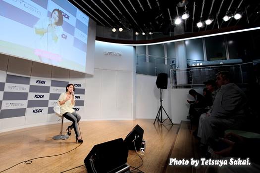 水越ユカ(水越結花)~全国CDデビュー記念日インストアライブ@KDDIデザイニングスタジオ