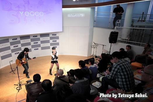 YOCCOライブ~KDDIデザイニングスタジオ・プレゼンツ「Designing Stage Vol.50」