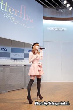 8utterfly(バタフライ) GWスペシャルライブ2nd stage@KDDIデザイニングスタジオ