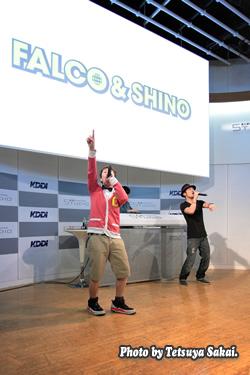FALCO&SHINO GWスペシャルライブ1st stage@KDDIデザイニングスタジオ