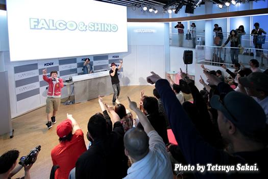 Kスタライブ:FALCO&SHINO