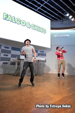 FALCO&SHINO GWスペシャルライブ2nd stage@KDDIデザイニングスタジオ