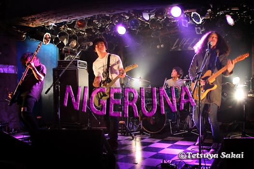 NIGERUNAライブ:人工楽園企画『圧倒的な快楽を』@新宿Loft
