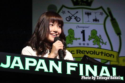 「第7回ミュージックレボリューション ジャパンファイナル」アシスタントMC:諸橋沙夏