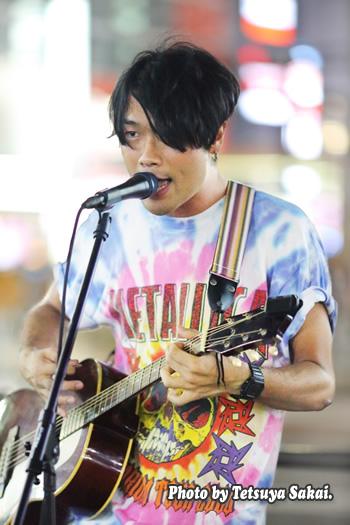 櫻井孝紀(SAKU):ストリートライブ