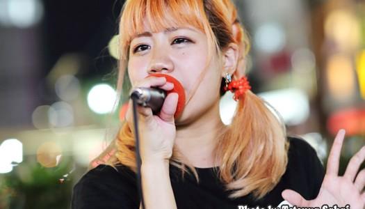 すみれ☆未来の歌姫:池袋ストリートライブ2016 10/18