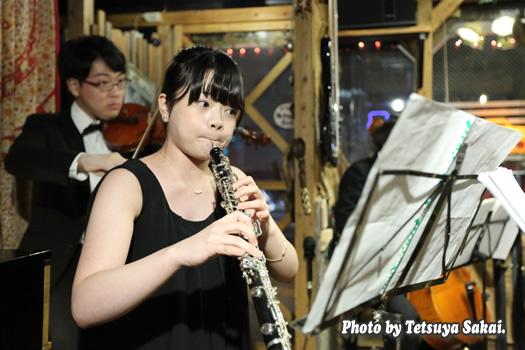 ピトレ弦楽奏団:ニャランゴ・バロックナイトライブ(オーボエ:福田有花)