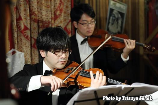 ピトレ弦楽奏団:ニャランゴ・バロックナイトライブ(ヴァイオリン:池田開渡)