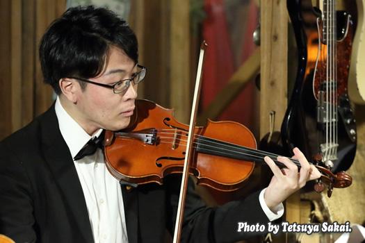 ピトレ弦楽奏団:ニャランゴ・バロックナイトライブ(ヴァイオリン:谷崎大起)