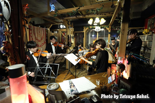 ピトレ弦楽奏団:ニャランゴ・バロックナイトライブ