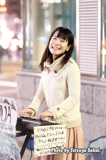 MUSIQUA(ムジカ)石橋沙弥香:原宿ストリートライブ