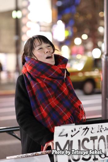 石橋沙弥香(MUSIQUA):原宿ストリートライブ