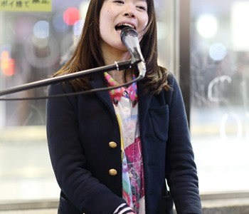MUSIQUA(ムジカ)石橋沙弥香:ストリートライブ2017 3/12