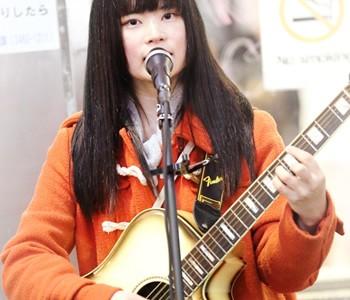 美桜(みおう):渋谷ストリートライブ2017 3/29