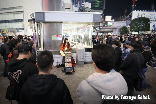 美桜(みおう)渋谷ストリートライブ