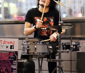 ユージ・レルレ・カワグチ:渋谷ストリートライブ2017 4/4