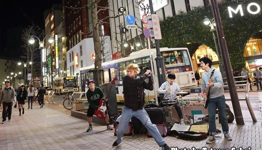 MINAMIS:渋谷ストリートライブ2017 4/19