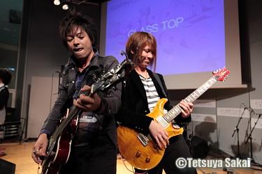 GLASS TOP:小林 佳 & 阿川 義和