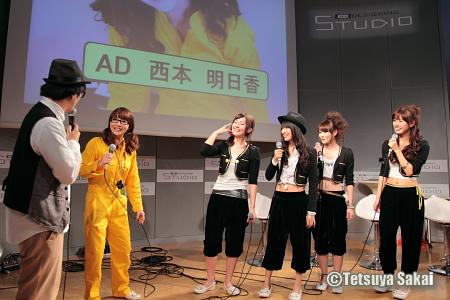 西本明日香:G-MARKETvol.3KDDIデザイニングスタジオライブイベント