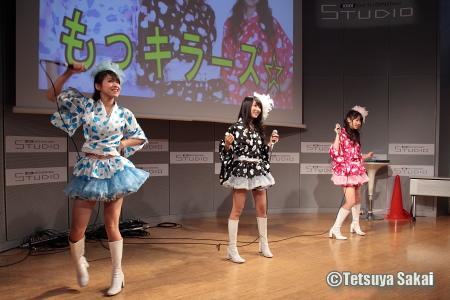 もっキラーズ☆:G-MARKETvol.3@KDDIデザイニングスタジオライブイベント