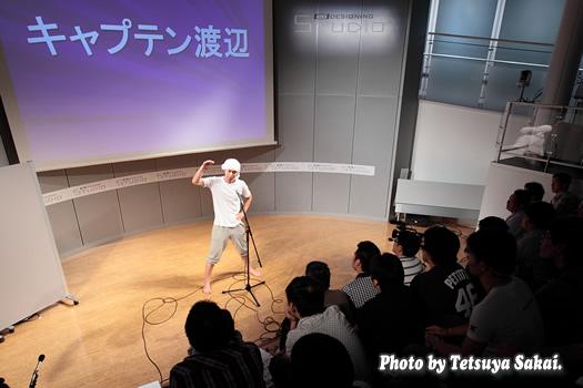 キャプテン渡辺~G-MARKET×J:COM番組『つながるセブン』@KDDIデザイニングスタジオ