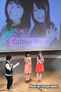 Glitter Nova~G-MARKET×J:COM番組『つながるセブン』@KDDIデザイニングスタジオ