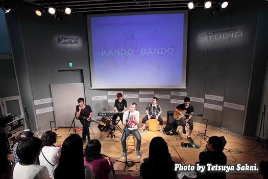 KANDO BANDO~KDDIデザイニングスタジオ・プレゼンツ「Designing Stage Vol.44」イベントライブ
