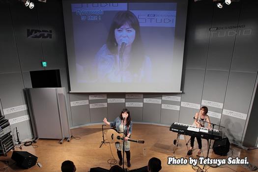 タマル:ライブ~Flying people×KDDIデザイニングスタジオ SP LIVE!!