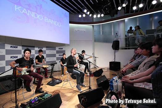 KANDO BANDO~KDDIデザイニングスタジオ・プレゼンツ「Designing Stage Vol.45」イベントライブ