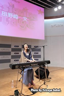 田野崎文(Aya Tanosaki)ライブ~KDDIデザイニングスタジオ・プレゼンツ「Designing Stage Vol.49」