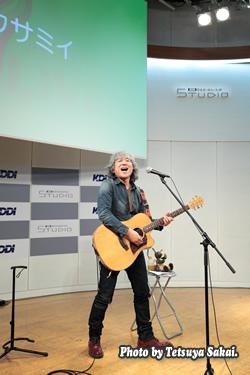 ユウサミイ(YuSammy)ライブ~KDDIデザイニングスタジオ7周年記念イベント
