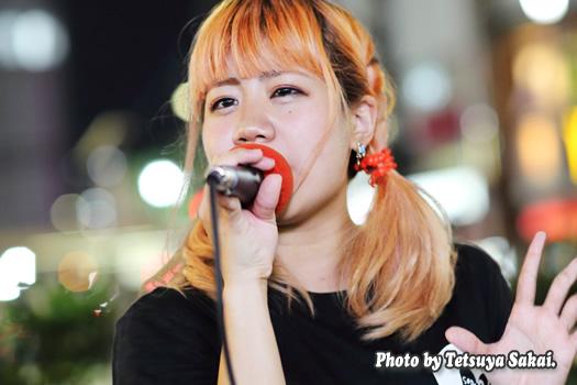 すみれ☆未来の歌姫:路上ライブ