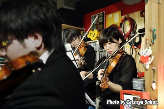 ピトレ弦楽奏団:ニャランゴ・バロックナイトライブ(ヴァイオリン: 大谷桜子)