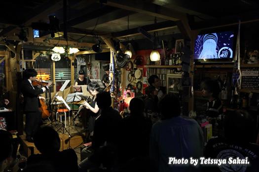 ピトレ弦楽奏団:ニャランゴ・バロックナイトライブ(東京スカイツリー展望台BGM演奏)