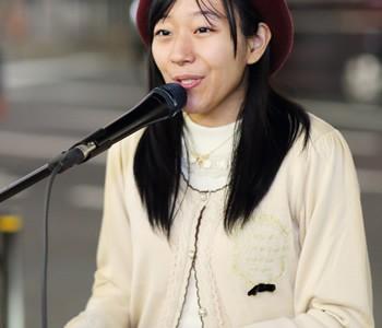 桜季(さき):池袋ストリートライブ2016 10/23