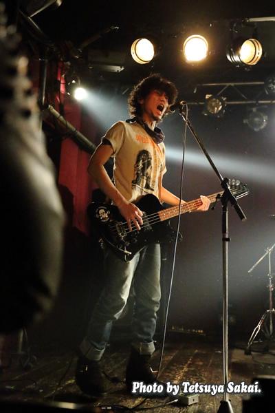 swankynote:KC(Bass)六本木 ClubEdgeライブ
