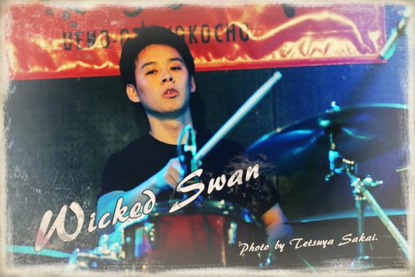 Wicked Swan(高柴貫爾):上野音横丁ライブ