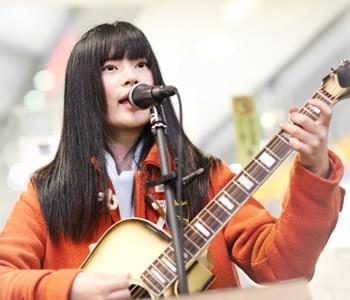 美桜(みおう):渋谷ストリートライブ2017 3/5