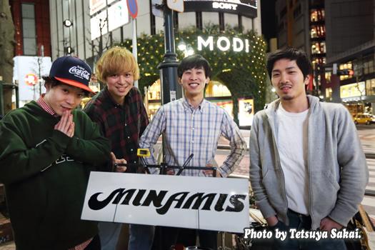 MINAMIS:路上ライブ