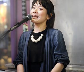 MUSIQUA(ムジカ)石橋沙弥香:ストリートライブ2017 4/25