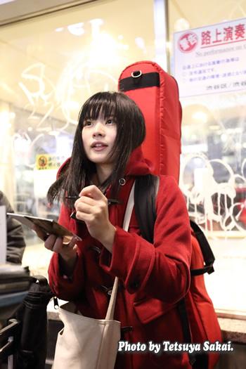 美桜(みおう):路上ライブ